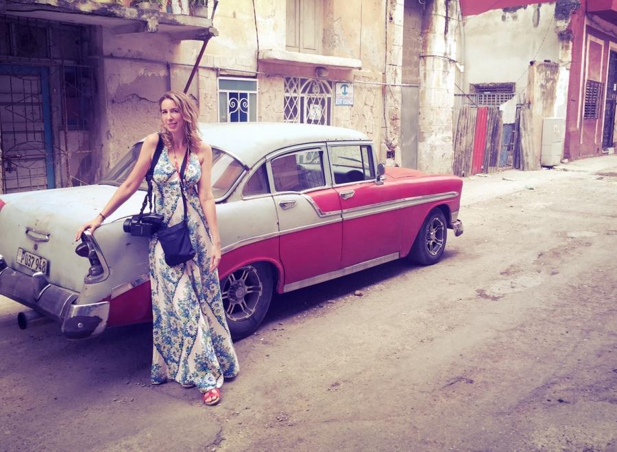 Sara Louise Petty in Cuba